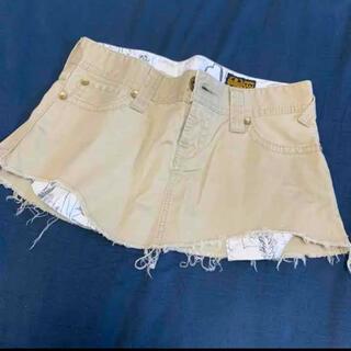 ロデオクラウンズ(RODEO CROWNS)のロデオクラウンズ チノ ミニスカート ダメージ(ミニスカート)