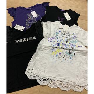 アナスイミニ(ANNA SUI mini)のアナスイミニ  Tシャツセット140(Tシャツ/カットソー)