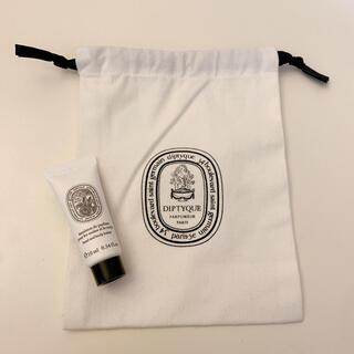 ディプティック(diptyque)のdiptyque ハンド&ボディーローション♡オーローズ(10ml)と巾着セット(ボディローション/ミルク)