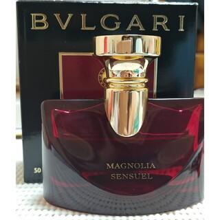 ブルガリ(BVLGARI)の♥ブルガリ スプレンディダ マグノリア センシュアル オードパルファム 50ml(香水(女性用))