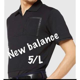 ニューバランス(New Balance)の新品■13,200円【ニューバランス】ポロシャツ  5/L ゴルフウェア(ウエア)