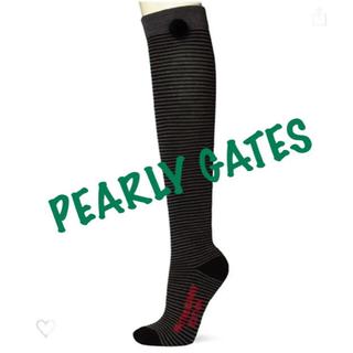 パーリーゲイツ(PEARLY GATES)の新品■3,080円【パーリーゲイツ】レディース ハイソックス 靴下(ウエア)