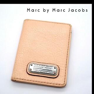 マークジェイコブス(MARC JACOBS)のMarc by Marc Jacobs パスケース オフピンク(名刺入れ/定期入れ)