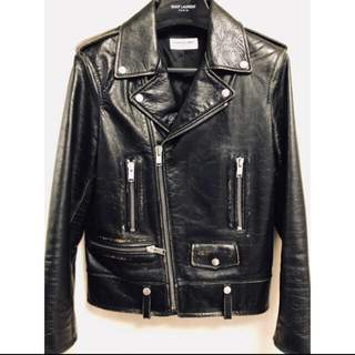 Saint Laurent - saint laurent paris L01 ライダース カーフ