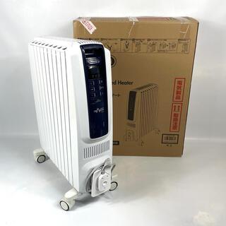 デロンギ(DeLonghi)の【箱付き 美品】DeLonghi オイルヒーター QSD0915-MB(オイルヒーター)