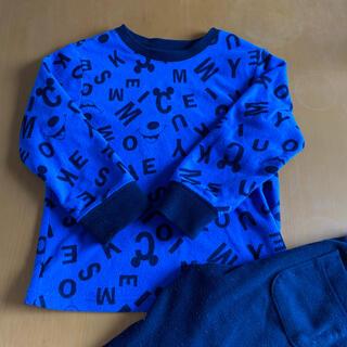 UNIQLO - UNIQLO ミッキー子供パジャマ