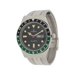 タイメックス(TIMEX)のTimex Q 1979 ウォッチ グリーン/ブラック(腕時計(アナログ))
