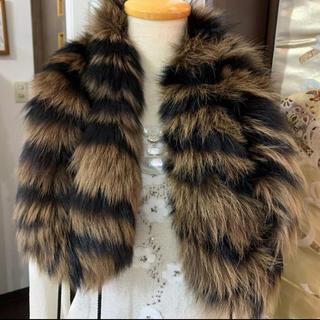 新春❣️プライス❣️ フォックス FOX マフラー(毛皮/ファーコート)
