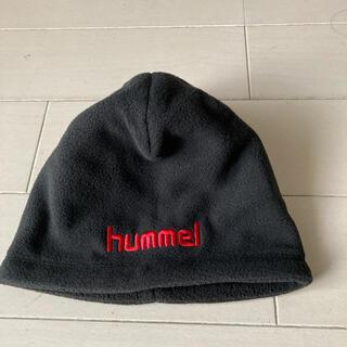 ヒュンメル(hummel)の新品未使用 ヒュンメル ジュニア フリースキャップ (帽子)