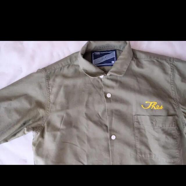 schott(ショット)のthe fablic ワークシャツ ハンドメイドのインテリア/家具(ファブリック)の商品写真