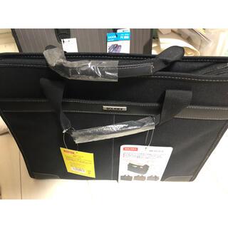 未使用 ビジネスバッグ ブラック 黒 ハンドバッグ ショルダーバック メンズ(ビジネスバッグ)