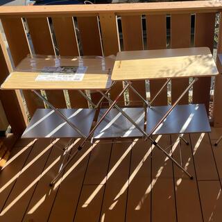 ユニフレーム(UNIFLAME)のユニフレーム キッチンスタンド2 バーナースタンド テーブル 天板 ステンレス(調理器具)
