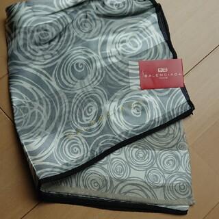 バレンシアガ(Balenciaga)の新品 バレンシアガ シルク スカーフ(バンダナ/スカーフ)