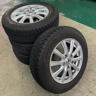 ダンロップ(DUNLOP)のスタッドレスタイヤ・ホイール4本セット 195/65R15ダンロップ(タイヤ・ホイールセット)