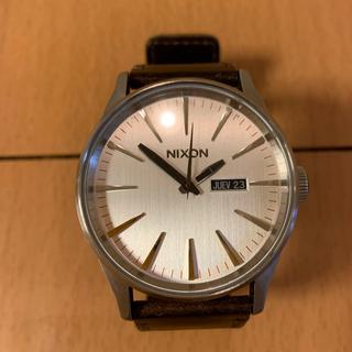 NIXON - ニクソン 腕時計 NIXON セントリーレザー SENTRY LEATHER