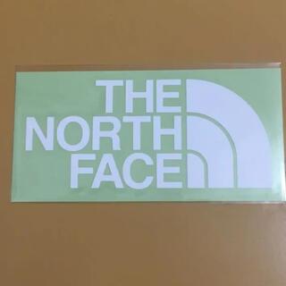 ザノースフェイス(THE NORTH FACE)のノースフェイス ステッカー 白 新品(その他)