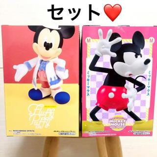ディズニー(Disney)のディズニーキャラクター ミッキー フィギュア セット(アニメ/ゲーム)