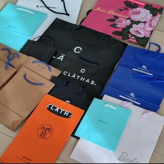 バーバリーブルーレーベル(BURBERRY BLUE LABEL)のショップ袋 LOUIS VUITTON ティファニー エルメス バーバリー(ショップ袋)