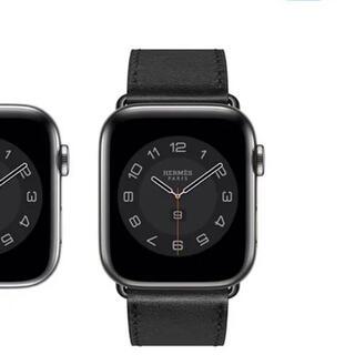 エルメス(Hermes)の【未来様専用】Apple Watch6 HERMES 44mm ブラック(腕時計(デジタル))