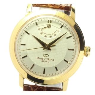 オリエント(ORIENT)のオリエント オリエントスター ロイヤル EG00-A0 メンズ 【中古】(腕時計(アナログ))