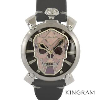 ガガミラノ(GaGa MILANO)のガガ・ミラノ マヌアーレ48  メンズ腕時計(腕時計(アナログ))