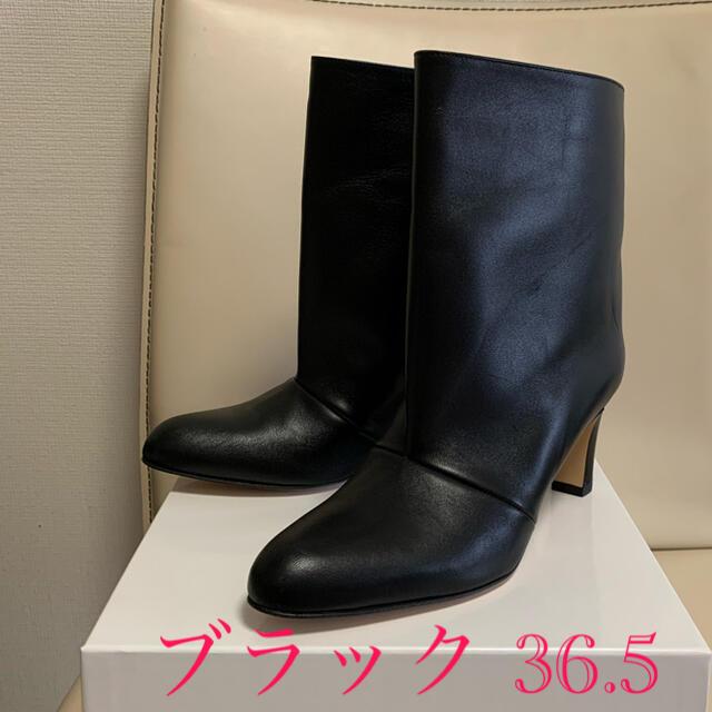 IENA(イエナ)の未使用 NEBULONI E. ショートブーツ ブラック 36.5 レディースの靴/シューズ(ブーツ)の商品写真