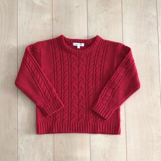 サンカンシオン(3can4on)の女の子 セーター トップス サイズ120(Tシャツ/カットソー)