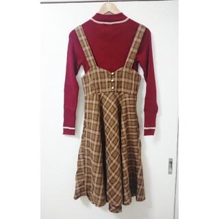 フィント(F i.n.t)のバックリボンハイウエストスカート(ひざ丈スカート)