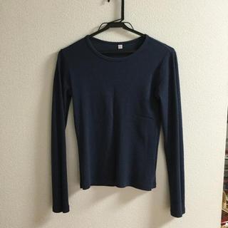 ユニクロ UNIQLO トップス(Tシャツ(長袖/七分))