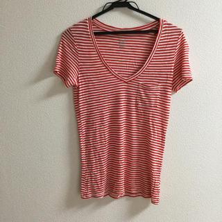 アメリカンイーグル Tシャツ ボーダー(Tシャツ(半袖/袖なし))