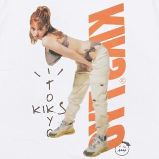 キックスティーワイオー(KIKS TYO)のKIKS GIRLS TEE 瑛茉ジャスミン TRAVIS SCOTT L(Tシャツ/カットソー(半袖/袖なし))