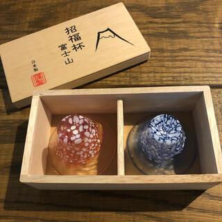 トウヨウササキガラス(東洋佐々木ガラス)の招福杯 富士山おちょこ 東洋佐々木ガラス(グラス/カップ)