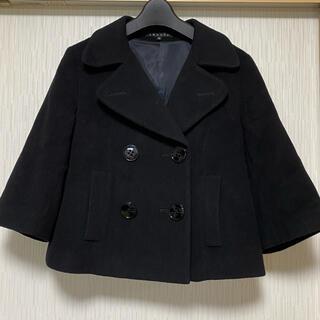 セオリー(theory)のセオリー オシャレなショートジャケット コート ウールカシミヤ素材(ピーコート)