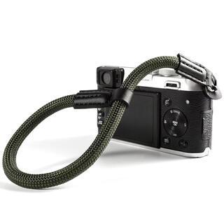 カメラハンドストラップ クライミングロープ グリーン(ミラーレス一眼)