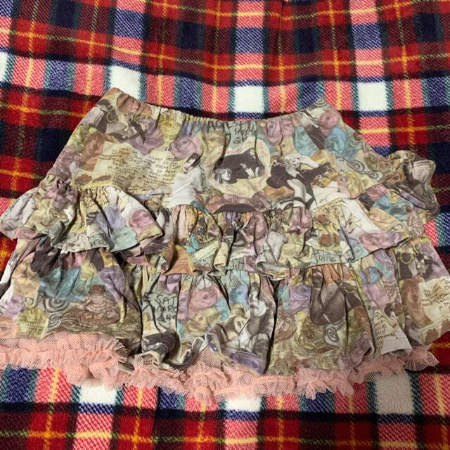 JOEY HYSTERIC(ジョーイヒステリック)のジョーイヒステリック スカート キッズ/ベビー/マタニティのキッズ服女の子用(90cm~)(スカート)の商品写真