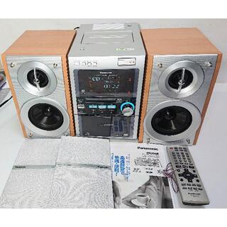 パナソニック(Panasonic)のパナソニック SDミニコンポ SC-PM710SDリモコン/取説付き(アンプ)