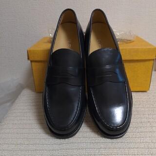 リーガル(REGAL)のREGAL    ローファー   新品  本皮BLACK  24.5㎝(ローファー/革靴)