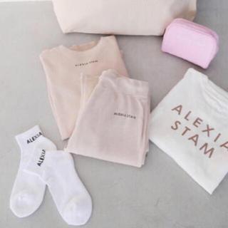 アリシアスタン(ALEXIA STAM)のALEXIA STAM Happy Bag 靴下(ソックス)