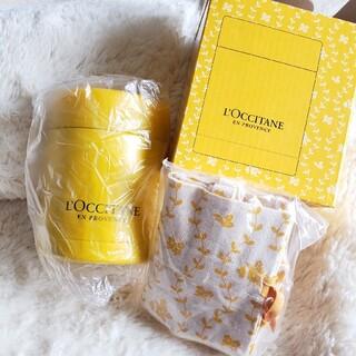 ロクシタン(L'OCCITANE)の《新品未使用》L'OCCITANE スープジャー&ケース(弁当用品)