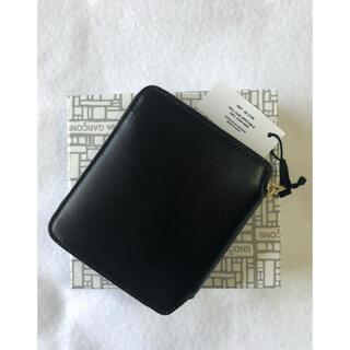 コムデギャルソン(COMME des GARCONS)の[新品]コムデギャルソン ラウンドジップ折り財布 ブラック(財布)