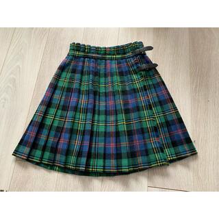 【最終お値下げ】チェック巻きスカート(ミニスカート)