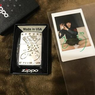 ジッポー(ZIPPO)のBiSH Zipoo アユニ・D チェキ付(アイドルグッズ)