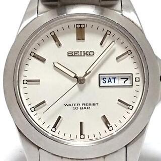 セイコー(SEIKO)のセイコー 腕時計 スピリット 7N43-0AP0 白(その他)