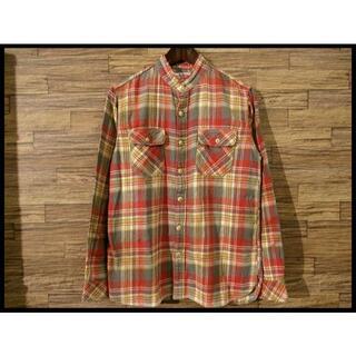 ハリウッドランチマーケット(HOLLYWOOD RANCH MARKET)のサンプル品 ハリラン ハリウッドランチマーケット 加工 チェック ネルシャツ(シャツ)