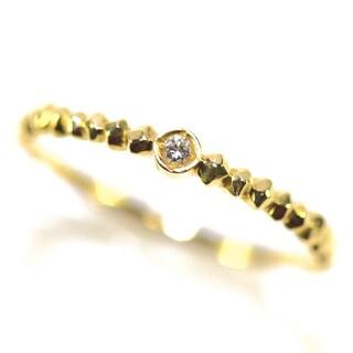 アーカー(AHKAH)のアーカー K18YG ダイヤモンドリング(リング(指輪))