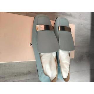 セルジオロッシ(Sergio Rossi)の★Sergio Rossi★SR1 スリッパ&バレエフラット 37(ローファー/革靴)