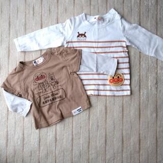 アンパンマン(アンパンマン)のアンパンマン 長袖シャツ 80cm、90cm 2枚組(Tシャツ/カットソー)