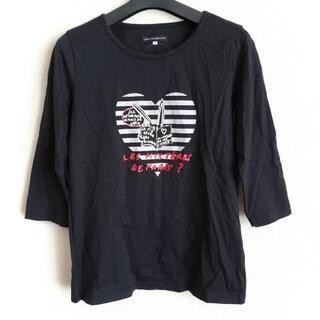 カステルバジャック(CASTELBAJAC)のカステルバジャック 七分袖Tシャツ 42 L -(Tシャツ(長袖/七分))