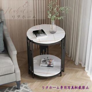 飾り台 大理石ローテーブル リビングテーブル センターテーブル サイドテーブル (ローテーブル)