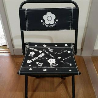 MARY QUANT - マリークワント 折りたたみチェア パイプ椅子